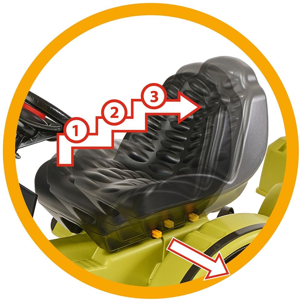 Tractor cu pedale si remorca Big Claas Celtis Loader - 3