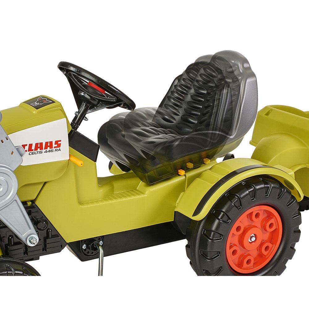 Tractor cu pedale si remorca Big Claas Celtis Loader - 4