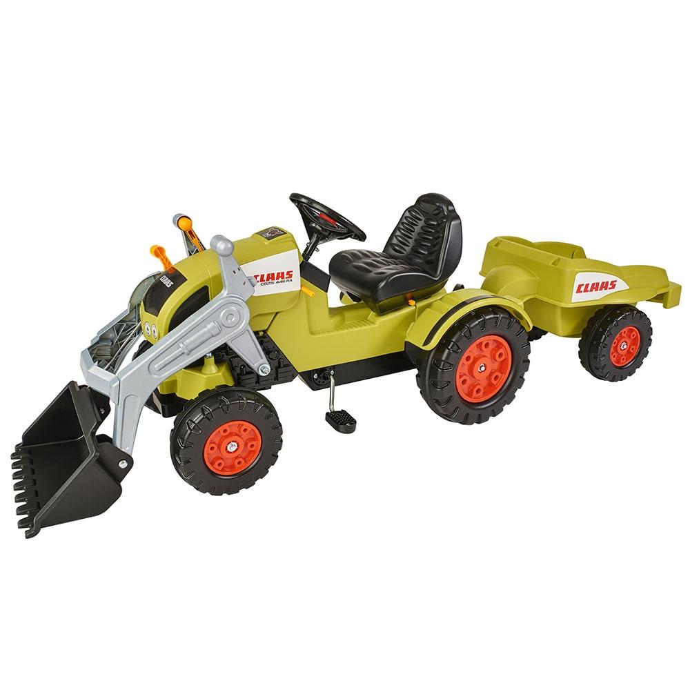 Tractor cu pedale si remorca Big Claas Celtis Loader - 5