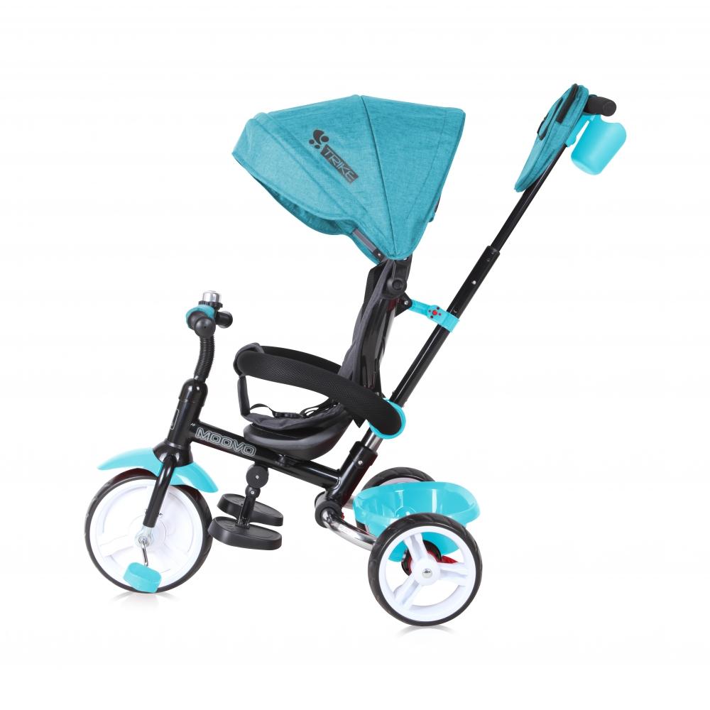 Tricicleta multifunctionala Moovo Green Luxe imagine