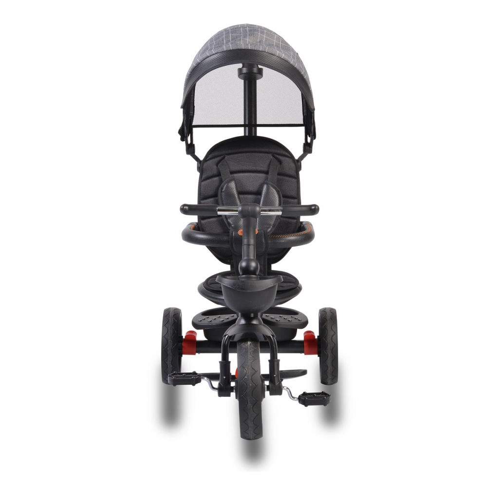 Tricicleta pliabila cu sezut rotativ Byox Classic Grey