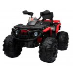 ATV electric cu amortizoare si roti din plastic Maverick 4x4 Red