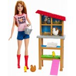 Set mobilier Barbie Cariere cu papusa la ferma