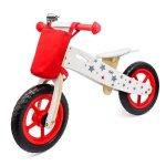 Bicicleta din lemn Balance rosie