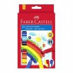 Carioca Connector Jumbo Faber-Castell 12 culori