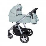Carucior multifunctional Baby Design Husky + Winter Pack 05 Turquoise 2020