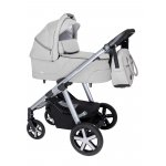 Carucior multifunctional Baby Design Husky + Winter Pack 27 Light Gray 2020