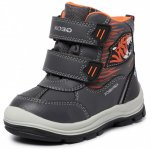 Cizme de zapada Geox B Flanfil BB Abx A Anthracite/Orange 20 (124 mm)