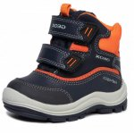 Cizme de zapada Geox B Flanfil BB Abx B Navy/Orange 20 (124 mm)