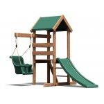 Complex de joaca din lemn MicroFort Dunster House