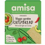 Crispbread (painici) veggie garden fara gluten bio 100g