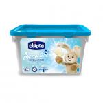 Detergent hipoalergenic pentru haine capsule cu gel 16 bucati Chicco 0luni+