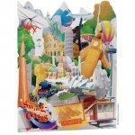 Felicitare 3D Obiective turistice Swing Cards