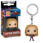 Breloc Pop Captain Marvel