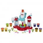 Set plastilina fabrica de inghetata Play-Doh