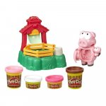 Set plastilina familia purcelusilor Play-Doh