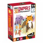 Joc animale 3D Montessori