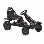 Kart cu pedale pentru copii Rally Black