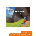 Carte de povesti Lupul si puiul de dragon