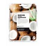 Masca faciala coreeana hranitoare de tip servetel cu cocos Farm Skin 1 buc