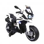 Motocicleta electrica pentru copii Rio White