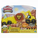 Play Doh set excavator si incarcator