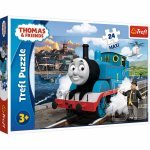 Puzzle Trefl Happy Thomas day 24 piese maxi
