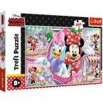 Puzzle Trefl O zi fericita cu Minnie 260 piese