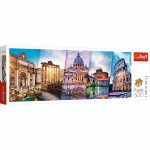 Puzzle Trefl Panorama calatorind in Italia 500 piese