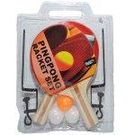Palete ping pong + 3 mingi + fileu