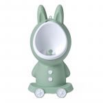 Pisoar baieti Little Mom Bunny Green