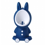 Pisoar baieti Little Mom Bunny Navy