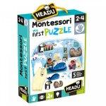 Primul meu puzzle Polul Nord Montessori