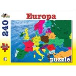Puzzle 240 piese Europa