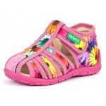 Sandale Froddo G1700250-1 Pink Flowers 21 (139 mm)