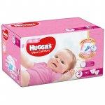 Scutece UC Box Huggies 3 Girl 5 -9 Kg 112 buc