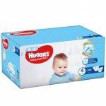 Scutece UC Box Huggies 4 Boy 8 -14 Kg 100 buc