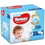Scutece UC Huggies Box 5 Boy 12 -22 Kg 84 buc