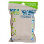 Servetele 100% naturale neparfumate umede/uscate My Wipes by Potette Plus
