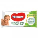 Servetele umede Huggies  Natural Care Extra Care 56 buc