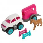 Set Big Power Worker Mini Pony Transporter