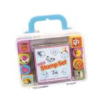 Set mini stampile si tusiera Keycraft