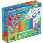 Set de constructie magnetic Geomag Rainbow 32 piese