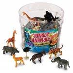 Set figurine Animalute din jungla