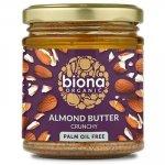 Unt de migdale crunchy eco 170g Biona