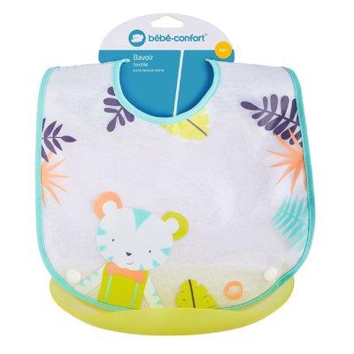 Baveta + buzunar plastic detasabil Jungle Vibes Bebe Confort