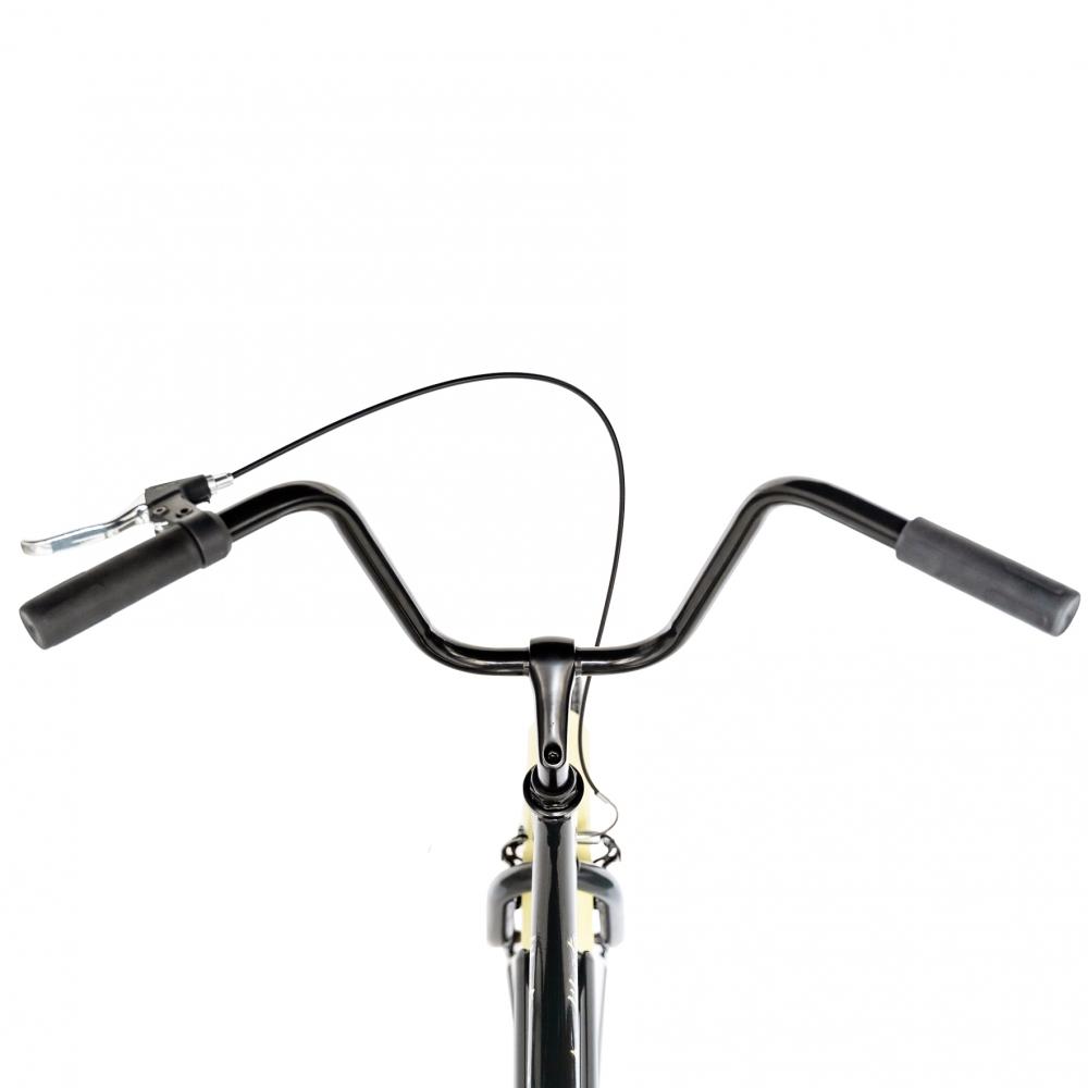 Bicicleta City 26 Carpat Liberta C2693A cu cadru de otel gricrem