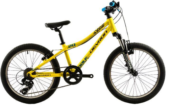 Bicicleta copii Devron Riddle K2.2 280 mm galben 20 inch