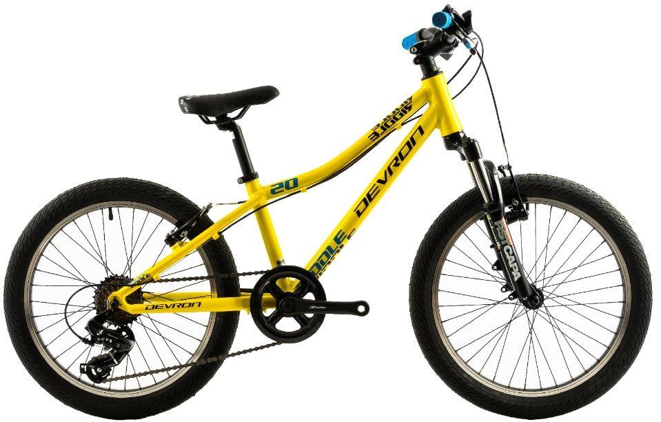 Bicicleta copii Devron Riddle K2.2 galben 20 inch