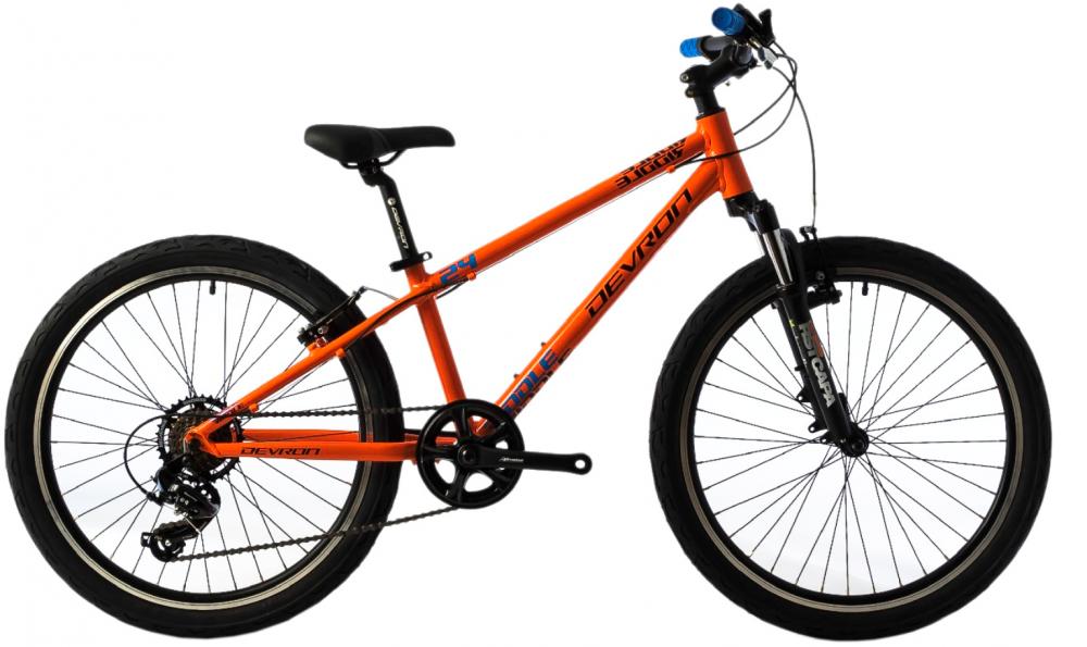 Bicicleta copii Devron Riddle K2.4 portocaliu 24 inch imagine